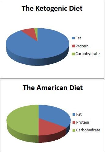 ketogenic-vs-american-diet-pie-charts