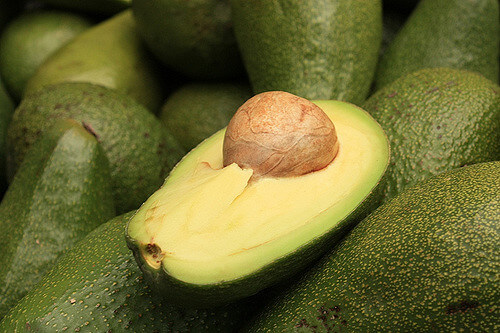 Avocado for fats, protein and carbs