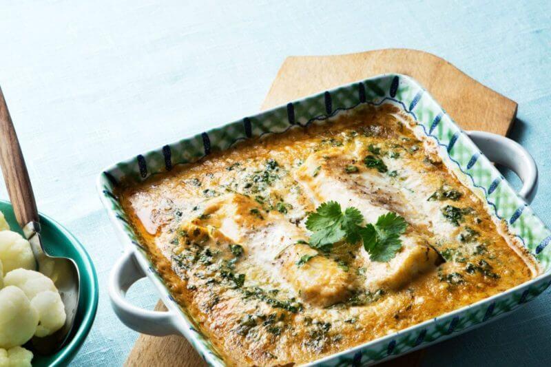 Quick keto fish curry recipe